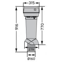 MX 160 /240/770 вентиляционный выход