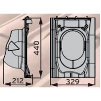 MX Tiili проходной элемент для керамической и цементно-песчаной кровли
