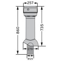 MX 125 /180/735 вентиляционный выход