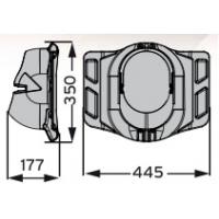 MX Pelti проходной элемент для металлочерепицы и профилированной кровли