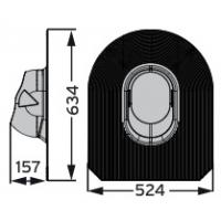 MX Huopa проходной элемент для мягкой кровли